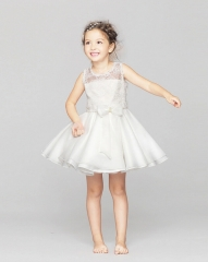 Children Kids Dress Halloween Girls Princess Skirt Tutu Dress white 100