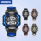 Children 's Watches Boys Girls waterproof Sports Electronic Watch for Students bule-L
