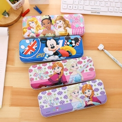 Pencil Case multifunctional Double Layers Children Iron Creative Gift #1
