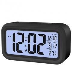 Students Creative Clock Mute Alarm Children night light bedside clock