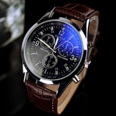 New Man Watches Business Watch Fashion Quartz Analog Boy Watch No.1
