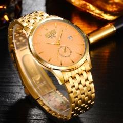 Luxury Watch Gentlemen Watch Fashion Quartz Analog Golden Watch no.1