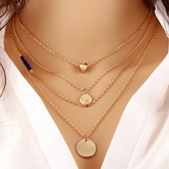 2016 Lady Necklace Fashion Casual Girl Necklace,hotsale Necklace no.1 normal