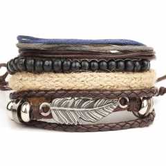 New Leather Man Bracelet Beautiful Boy Bracelet,best selling Bracelet NO.1