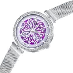 Rhinestone Watch Lady Watch Creative Quartz Analog Women Watch no.1