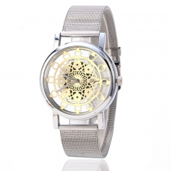 Fashion Watch Lady Watch Fashion Quartz Analog Golden Watch Silver Watch silver