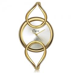 Women Watch Unique Fashion Quartz Analog Golden Watch Beautiful Watch gold