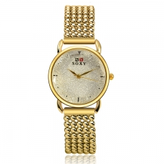 2016 Gold Watches Lady Watch Quartz Analog Watch Women Watch gold