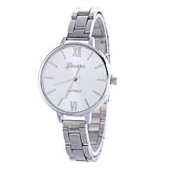 Golden Watch Lady Watch Quartz Analog Watch Women Watch Silver Watch silver