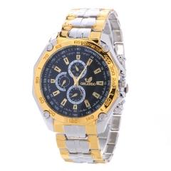 Stainless Steel Watch Lady Watch Quartz Analog Watch Women Watch Business Watch black