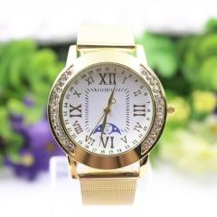 Golden Watches Lady Watch Quartz Analog Watch Women Watch Fashion Watch gold