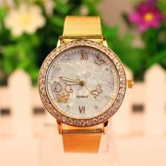 Golden Watches Lady Watch Quartz Analog Watch Women Watch Beautiful Watch gold