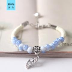 Lady Ceramic Bracelet Beautiful Girl Bracelet Fashion Ceramic Bracelet blue normal