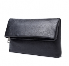 Men 's folding leisure business clutch black one size