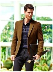 Leisure suit men gentleman Korean Slim business casual suit jacket men khaki m