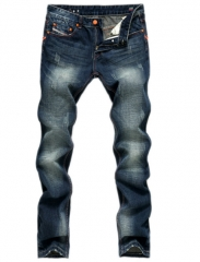 Brand jeans men straight explosion men Jeans worn trousers as the picture 33