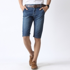 Summer thin section jeans men in pants business fashion Slim straight jeans pants as the picture 29