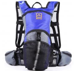 Outdoor shoulder bag riding bag riding bag sports bag water bag blue one size