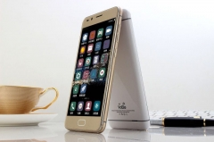 Smart phone HD 5.0 inch mobile phone golden