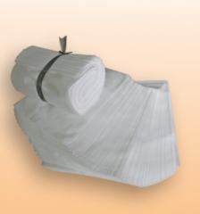 100 pcs Non-woven packing bag shopping bag White 250mm*250mm