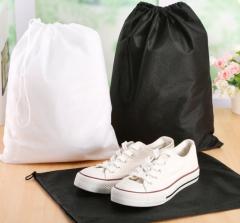 1000pcs Non-woven bag shopping bag storage bag white one size