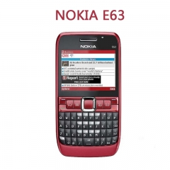 Original NOKIA E63 WIFI Bluetooth 2MP CAMERA  phone red