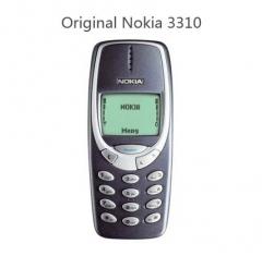 Original Nokia 3310 cheap phone unlocked GSM 900/1800  dark blue dark blue