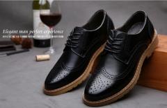 Pollock carved men 's shoes men' s shoes casual shoes black 38