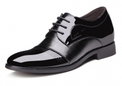 The new luxury craft stealth breathable business shoes within the high point of a single shoe black 38