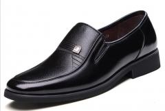 Classic men's business suits shoes black 38