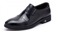 Men 's leather shoes luxury men' s leisure high - end business men 's shoes black 38