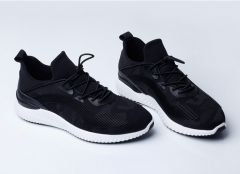 Lazy shoes, men 's running shoes, running shoes, youth, youth, youth trend black 38