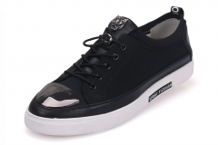 Men 's shoes casual shoes men' s leather British young men 's fall trend of the new black 38