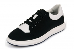 Men 's fashion shoes men' s shoes canvas shoes increased Sports shoes black 38