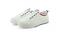Small fresh casual wild color of the Korean version of the small white shoes canvas shoes female blue 38
