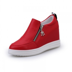 Casual shoes increased in the autumn of the new breathable shoes red 35