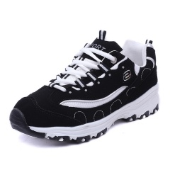 Wild sneakers In the high - rise women 's shoes running shoes at the end of casual shoes white 35