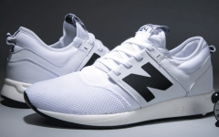 Summer models breathable NB leisure sports running shoes N word men's shoes white 39