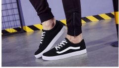 Low Top Canvas Sneakers Sport Leisure shoes Men Bestseller black 39