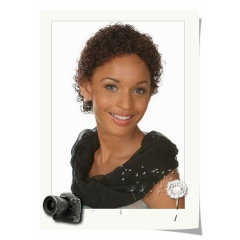 Short Kinky Curly Wigs For Black Women Short Blonde Wig as picture short hair