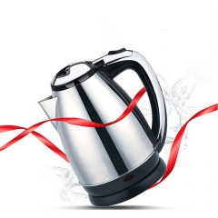 2L automatically powered Stainless steel electric kettle fast electric kettle Stainless steel colo