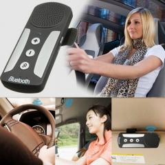 Wireless Bluetooth 4.1 Car Kit, Handsfree Call Multipoint Phone Music Audio Receiver black universal