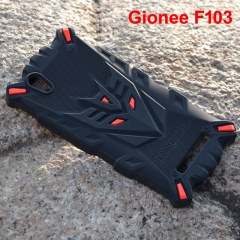 Fashion Transformers Rubber Phone Cover black For Gionee F103