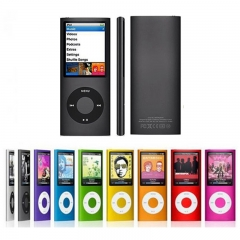 High quality FM Radio Video MP3 MP4 Music Player with Earphone rosy