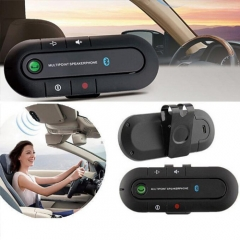 Top Sell Speakerphone Bluetooth Handsfree Car Kit ,Transmitter MP3 music Player For iPhone Android black universal