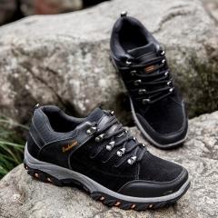 Professional Mountain Boots Men Waterproof Climbing Shoes Hiking Shoes Outdoor black 39