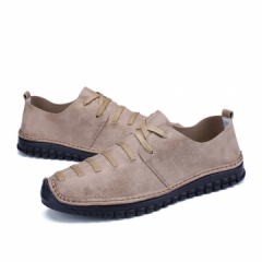 2017 Design Urban Design Men's Casual Leather Lace Up Height Increasing Pointed Toe Male Elevator brown 39