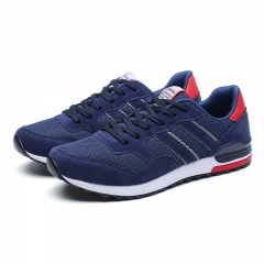 Autumn Running Shoes For Men Breathable Outdoor Sport Shoes Man Athletic Sport Sneakers Comfortable blue 39