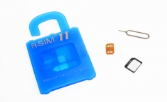 R-SIM11 General Nano Cloud Unlock Card IOS10 9.X&8.X&7.X no