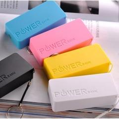 Power Bank 5600Mah Portable powerbank External Battery mobile charger for mobile phone KK0044 white